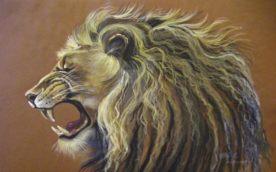 Roaring Lion No Wrinkles by HouseofChabrier