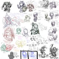 And then we OCd ALL NIGHT LONG by Vero-chan