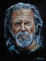 Jeff Bridges by Edwrd984