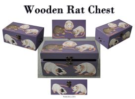 Rat Wooden Chest by wolfysilver