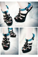 Biomecasochist shoes by MilkyBerry