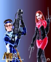 The Blue and the Red by Martin-Redfield