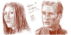 Winter Soldier Sketches by Sketch-Zap