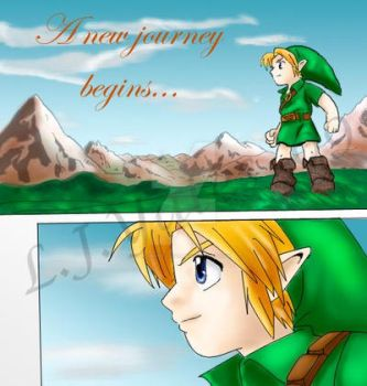 Link in Termina Field by Jelouse-Love