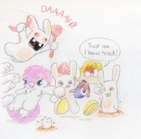 Too many darn Rabbids 8c by Mickeymonster