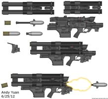 Rejected RPG Launcher idea by c-force