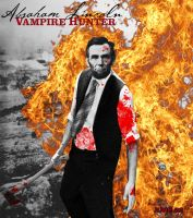 Abraham Lincoln Vampire Hunter by HaddonArt