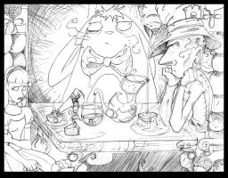 Your invited to a tea party... by Darkstampede