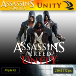 Assassin Creed 5- Unity ICON-1 by RajivCR7