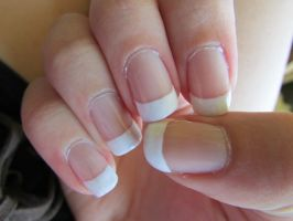 Super Simple White French by QueenAliceOfAwesome