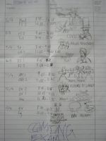 MAD EXAM TIMETABLE by SkyWhiteFox