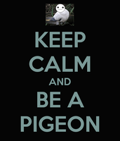 Keep Calm... Pigeon [Cry plays Hatoful Boyfriend] by OrangeRamen75
