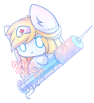 Nurse Crystal ~ { Commission } by Majo-Shoujo