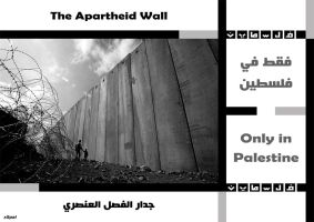 The Apartheid Wall by x5pal