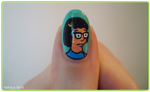 Tina Belcher. by NakayaNails