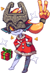 : A Very Midna Xmas : by Level2Select