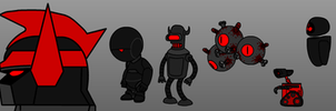 Demon Robot Line Up (CH5 and CH6) by 53xy83457