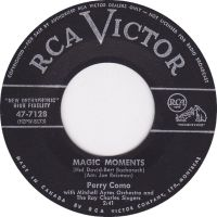 Perry 'Magic Moments' 1950's hit record by slr1238