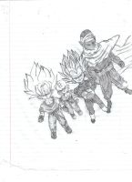 Chibi Ball Z by Dreballin3x