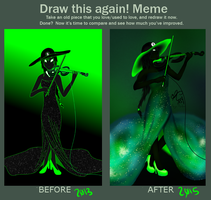 Draw this Again Sn0wman by Angie-Andrea