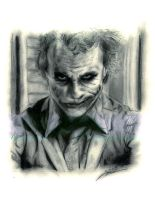 Heath 'Joker' Ledger by i3i11theWi11