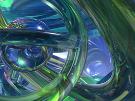 Untitled 3D Abstract #1 - Normal AA by LostWunderland