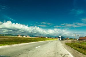 Romanian way perspective by Rikitza