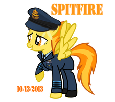 RAF Captain Spitfire by fORCEMATION