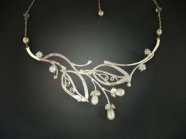 Nature inspired necklace by ElnaraNiall