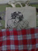 Bag version of the dakimakura play of sarumi by darkn2ght