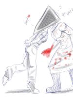 Pyramid Head WTF? by AXEL464