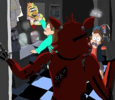 Five Nights at Gideons by HommicidalPenguinsCo