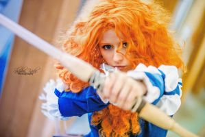 Merida From  Brave / Rebelle by ShashinKaihi