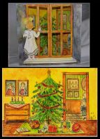 Christmas card by Hemhet