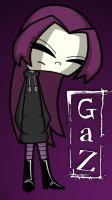 "Invader Zim - ""Teen Gaz"" Color by ZCVectross"