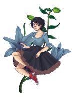 I wanted to erase those flowers so badly by Magdorf