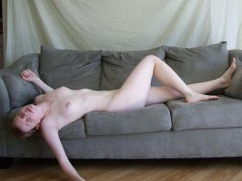 Nude on Sofa 2 by chamberstock