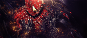 Spider Man Tag/Signature by DeybDR