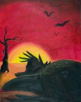 The Murder of Crows by Scunosi