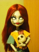 Monster High: Sally Ragdoll 2 by VietaSkellington