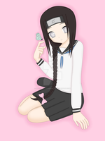 Crossdressing Neji by DeidaraLittleMonster