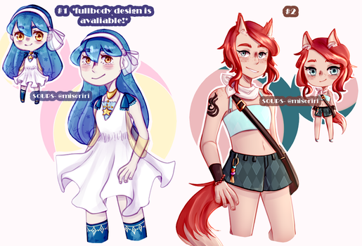 Miso Adopts: [2/2 Open] by CereaI