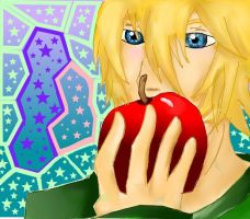Apple a day! by DudeImmaGirl