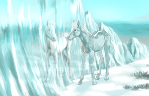 Draw to Adopt Entry - Glacier (Animated) by daughterofthestars