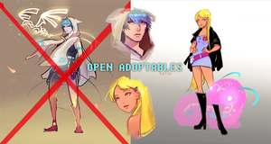 [OPEN - 1 left] GIF Adoptables + Companions by kaifuu