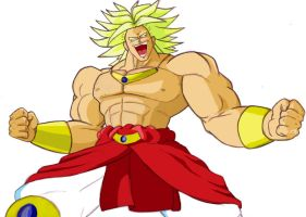 Broly Coloured by Lamme