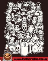 Point and Click T-shirt Design by alsnow