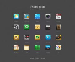 iPhone icon design by evchina