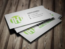 Business Card Layout 1 by ShindaTravis