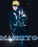 Naruto x Hinata- TRONcrossover by UnreaLPiXel